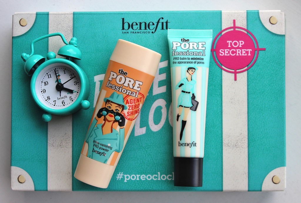 Benefit Poreoclock Party, benefit porefessional review, agent zero review, poreoclock