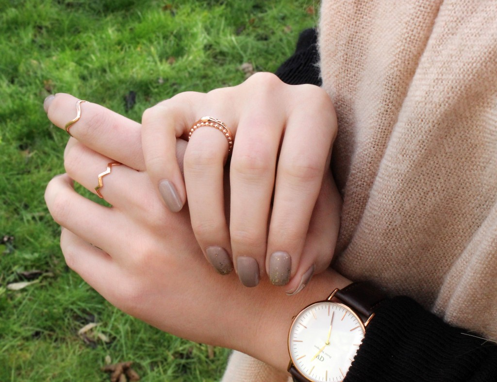 Gemporia Rose Gold Stacker Rings
