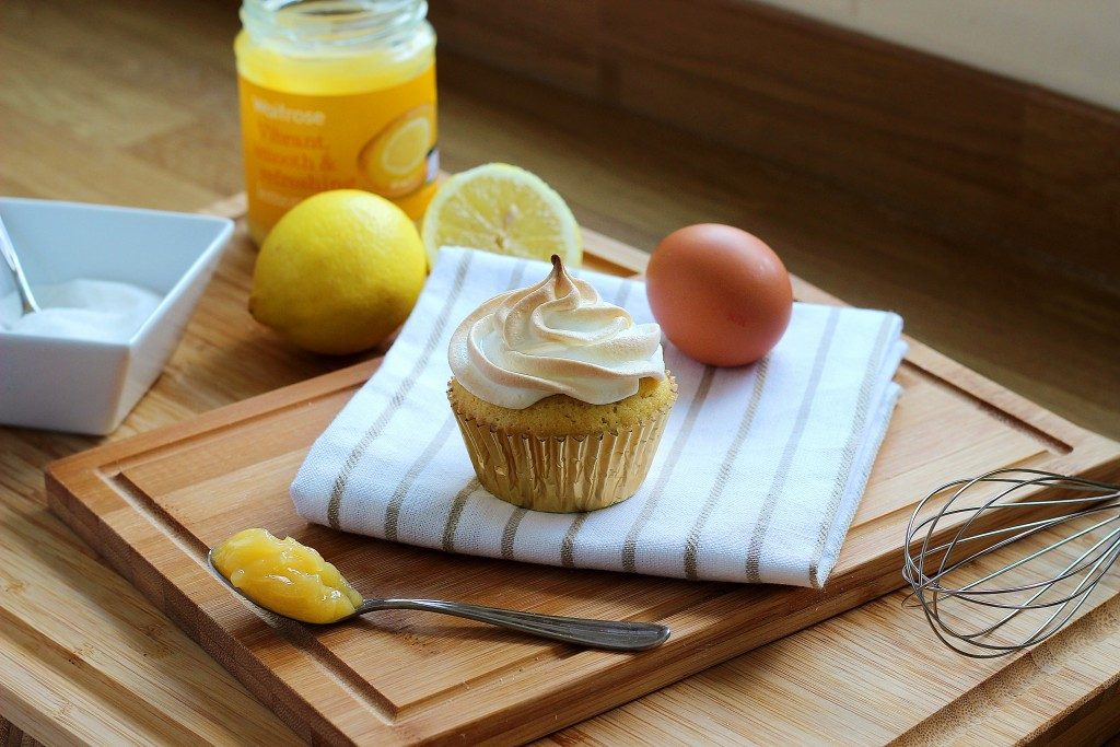 Lemon Meringue Cupcake Recipe