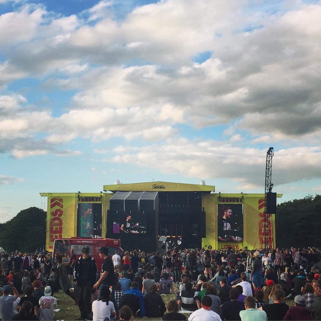 Bastille were ace at leedsfestival this afternoon! lbloggers leedsfest bastillehellip