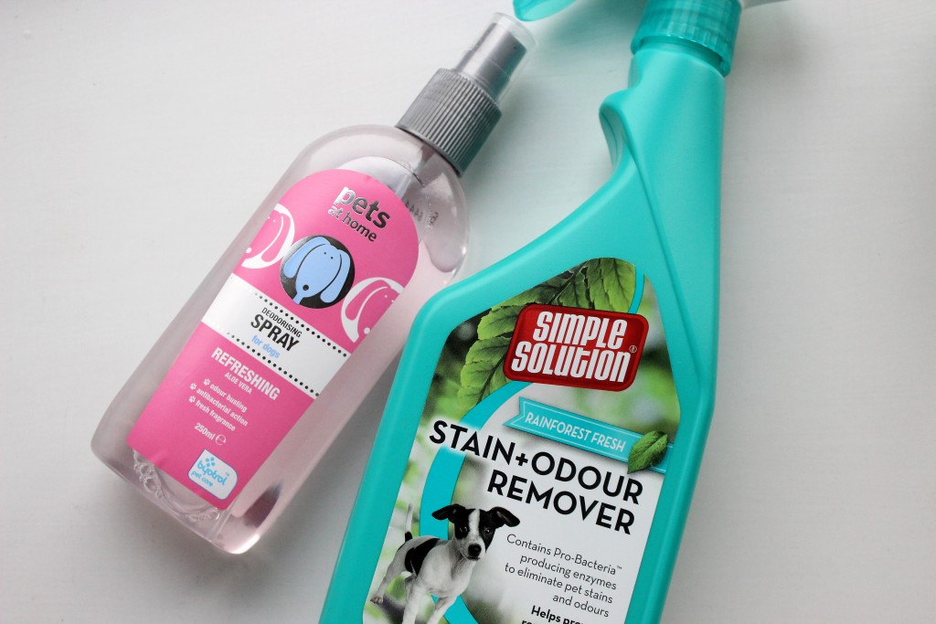 Pets at home stain remover and deoderant for dogs