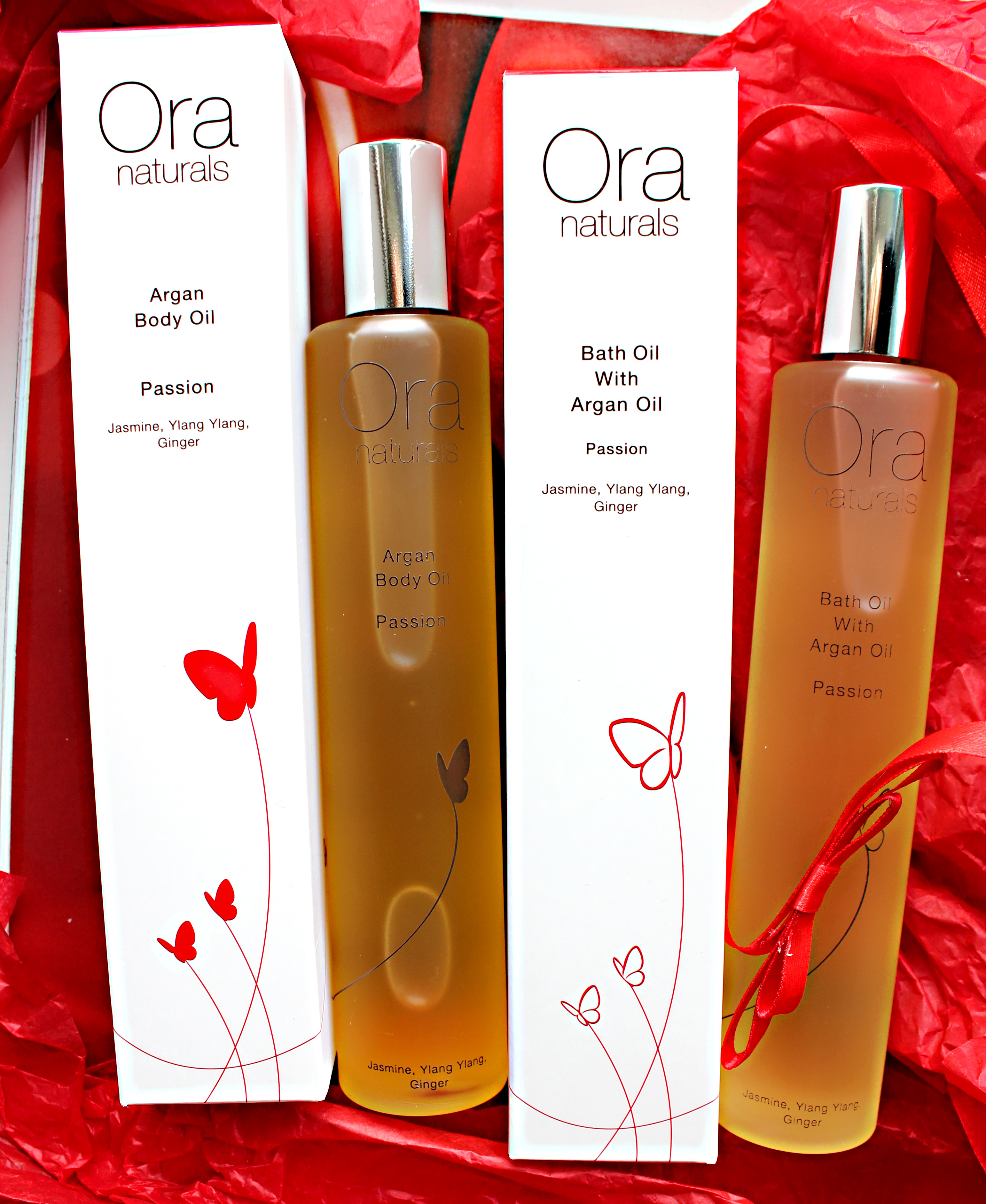 Ora Naturals Valentines Day Ginger and Jasmine Oil