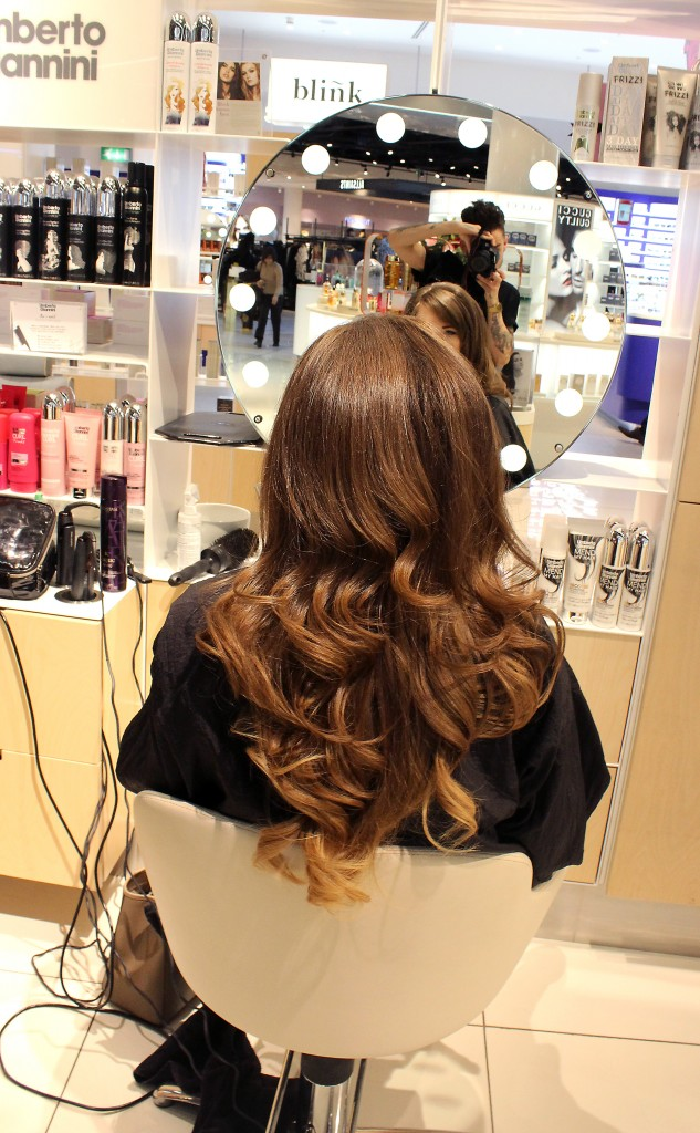Umberto Giannini Blow Dry Bar Selfridges Birmingham Review (6)