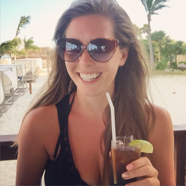 Cuba Libres on the beach bar rope swings ?☀️❤️ #lbloggers #holiday #mexico #paradise