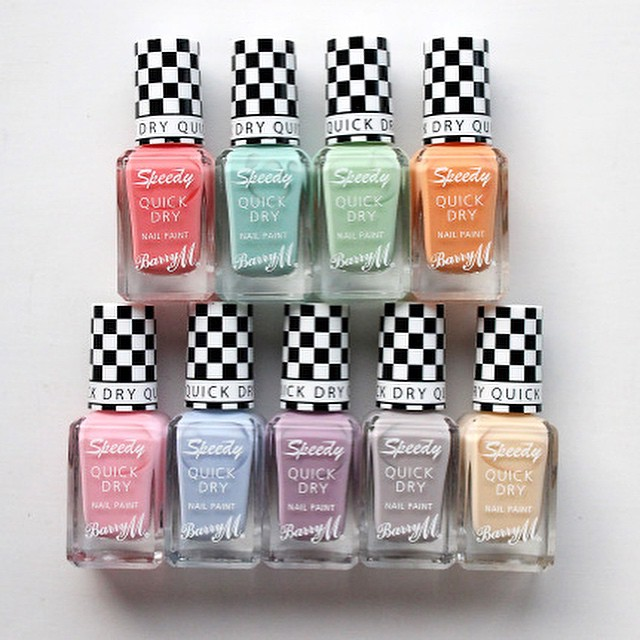 On The Blog Today | xameliax.com | The Spring Collection from @barrymcosmetics ?? #bbloggers #barrym #nailart #speeddry #newrelease