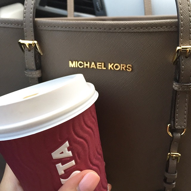 Aaaaaand we're back in the real world ✈️☕️❄️ #lbloggers #costa #homesafe