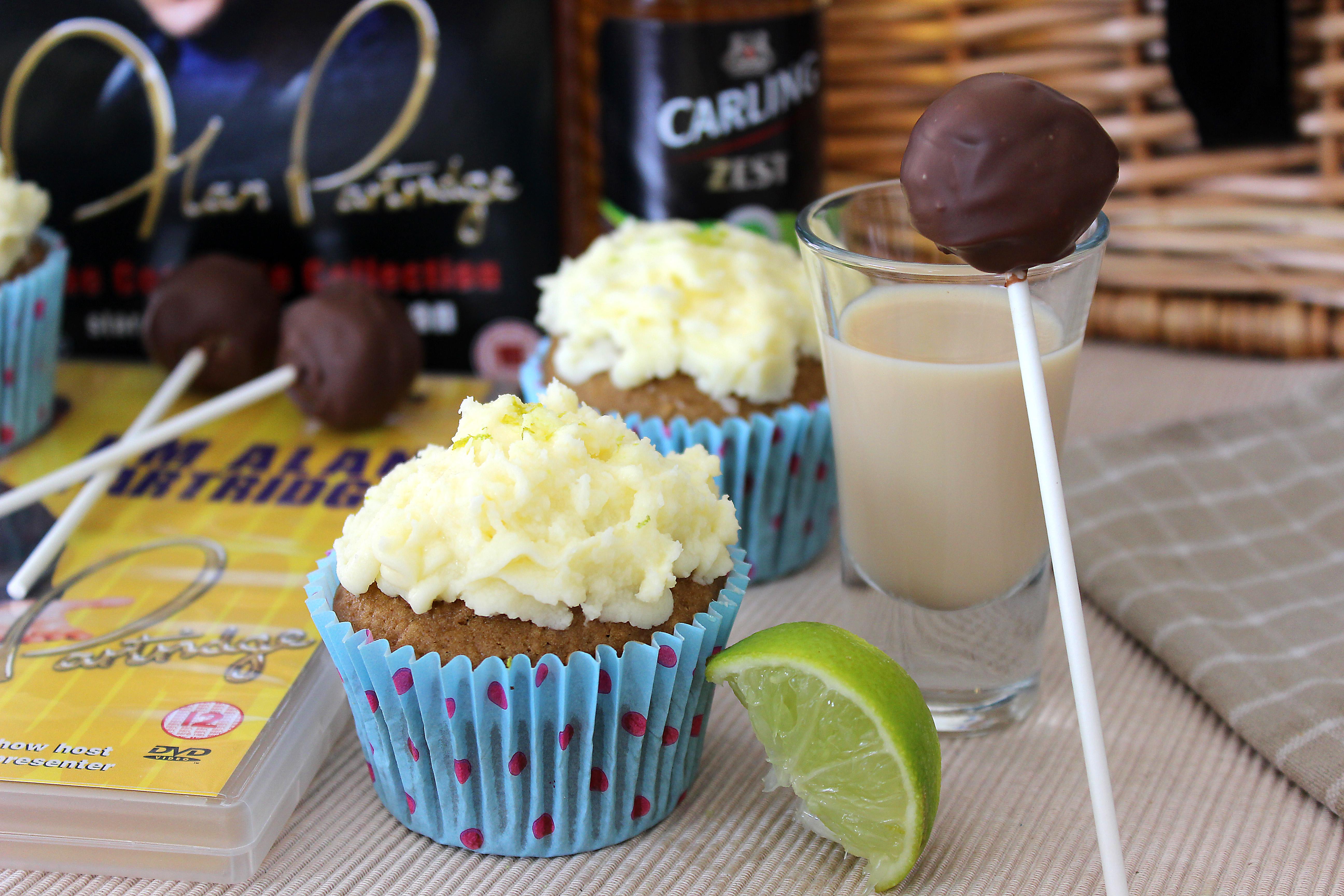 Alan Partridge Ladyboy Cupcakes
