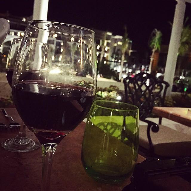 Dinner alfresco ??? #lbloggers #holiday #mexico