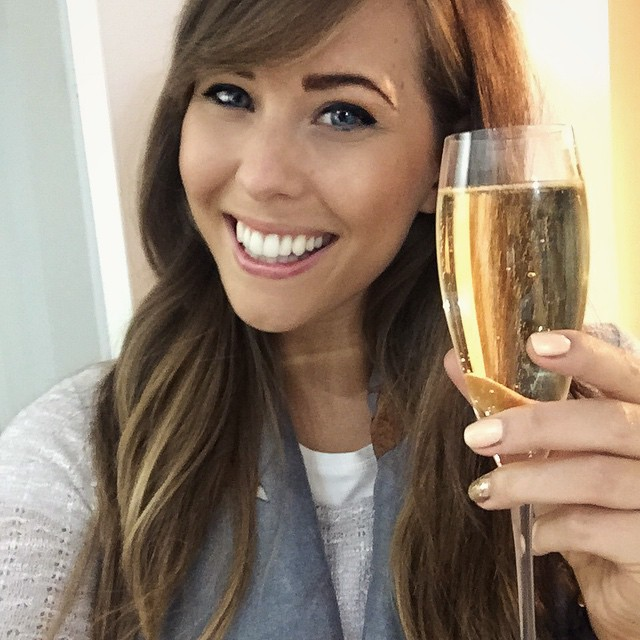 Here's to all 10,000 of you that watch my rambles on YouTube - today is a very proud day ☺️?❤️ #lbloggers #vloggers #moet #proudday #thankyou
