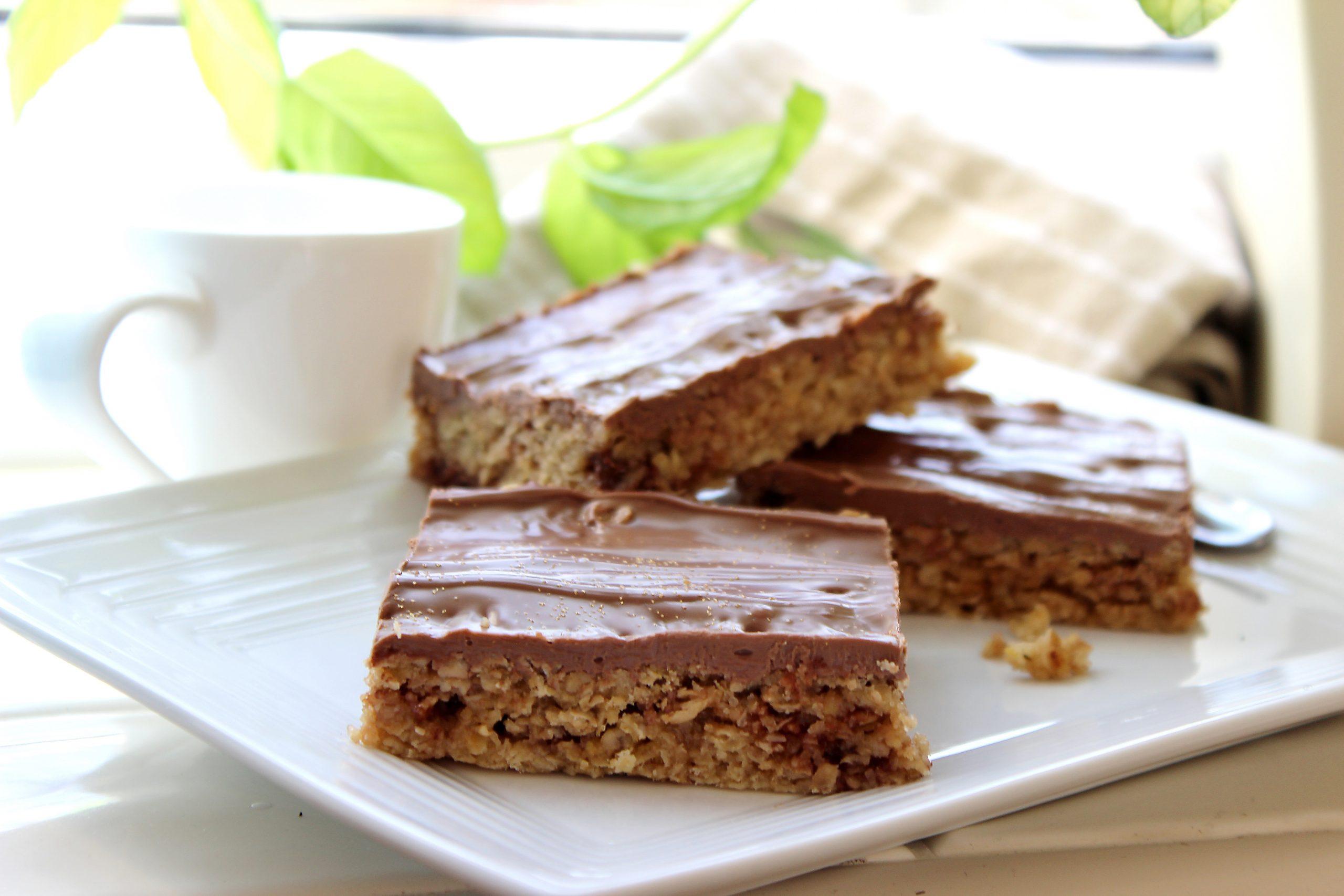 Easy Honeycomb Chocolate Flapjack Recipe