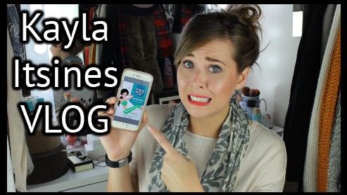 Kayla Itsines Vlog xameliax