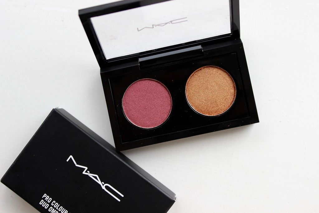 MAC Cranberry Frost and Amber Lights