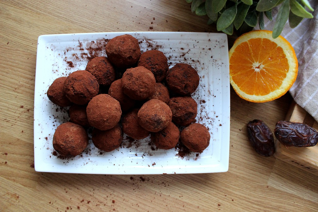 Raw Chocolate orange balls Recipe