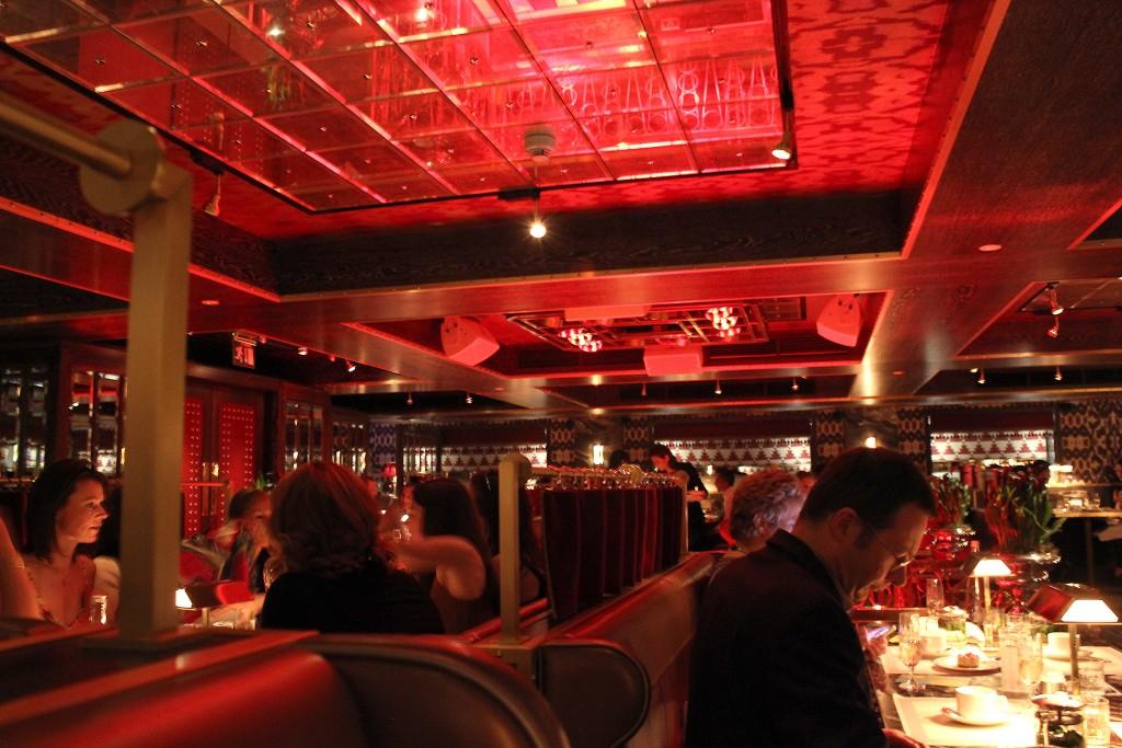 Bob Bob Ricard Review, Press for champagne button restaurant (3)