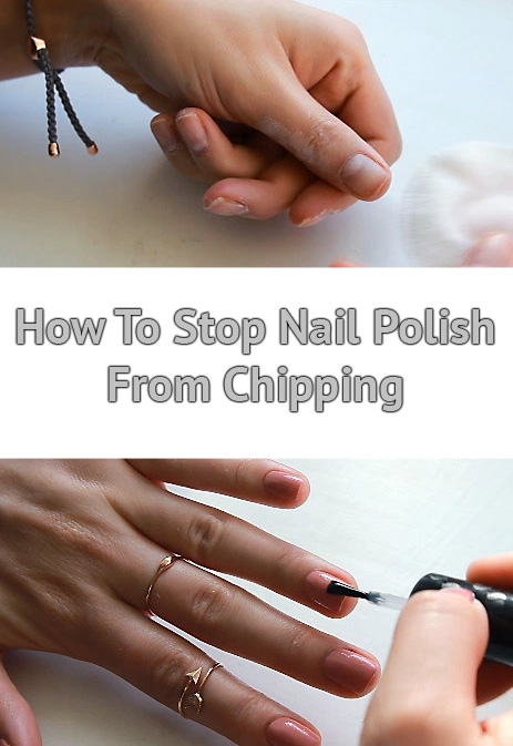 How To Stop Nail Polish From Chipping