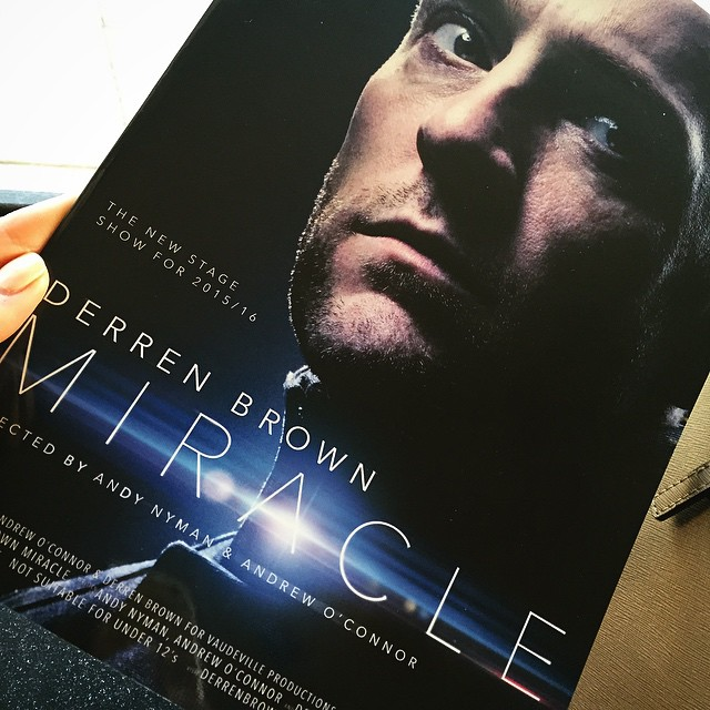Watching DerrenBrownLive Miracle tonight and I CANT WAIT!!!  lbloggershellip