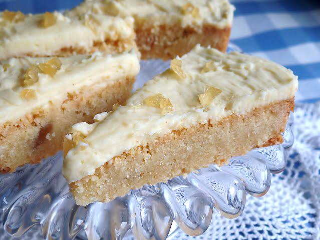 Stem ginger shortbread recipe
