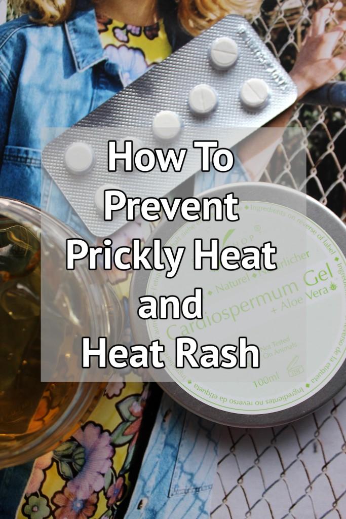 stop Prickly Heat, prevent Prickly Heat, treat Prickly Heat
