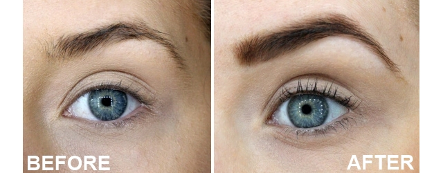Blink Brows Before and After