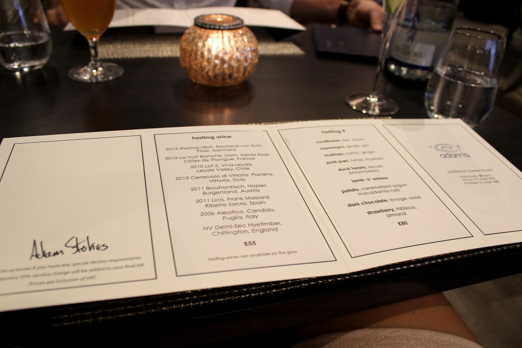 Adam's Birmingham Tasting Menu Review (5)