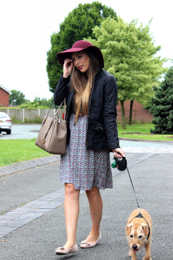 Summer Barbour OOTD (5)