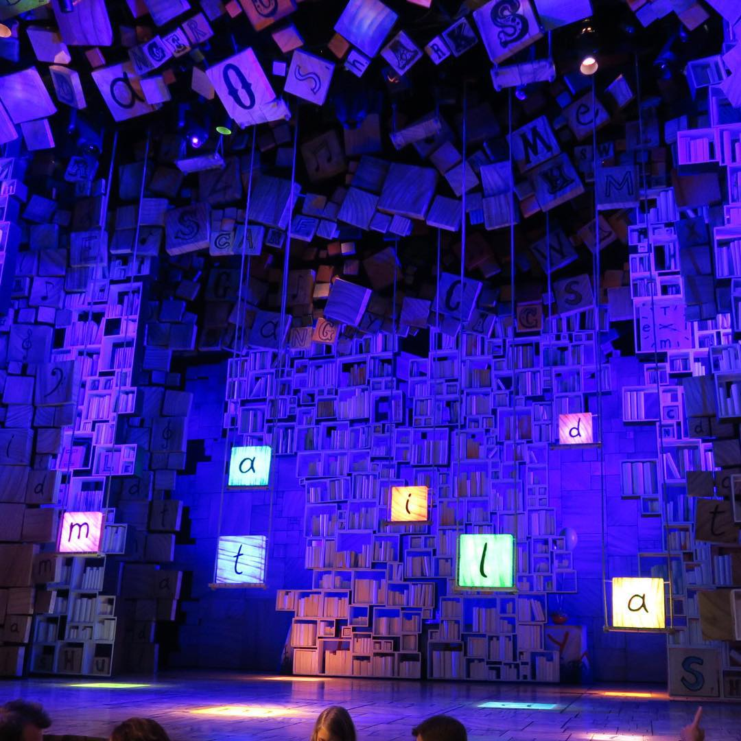 What a fun show Matilda is  The Trunchull washellip