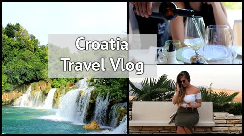croatia travel vlog