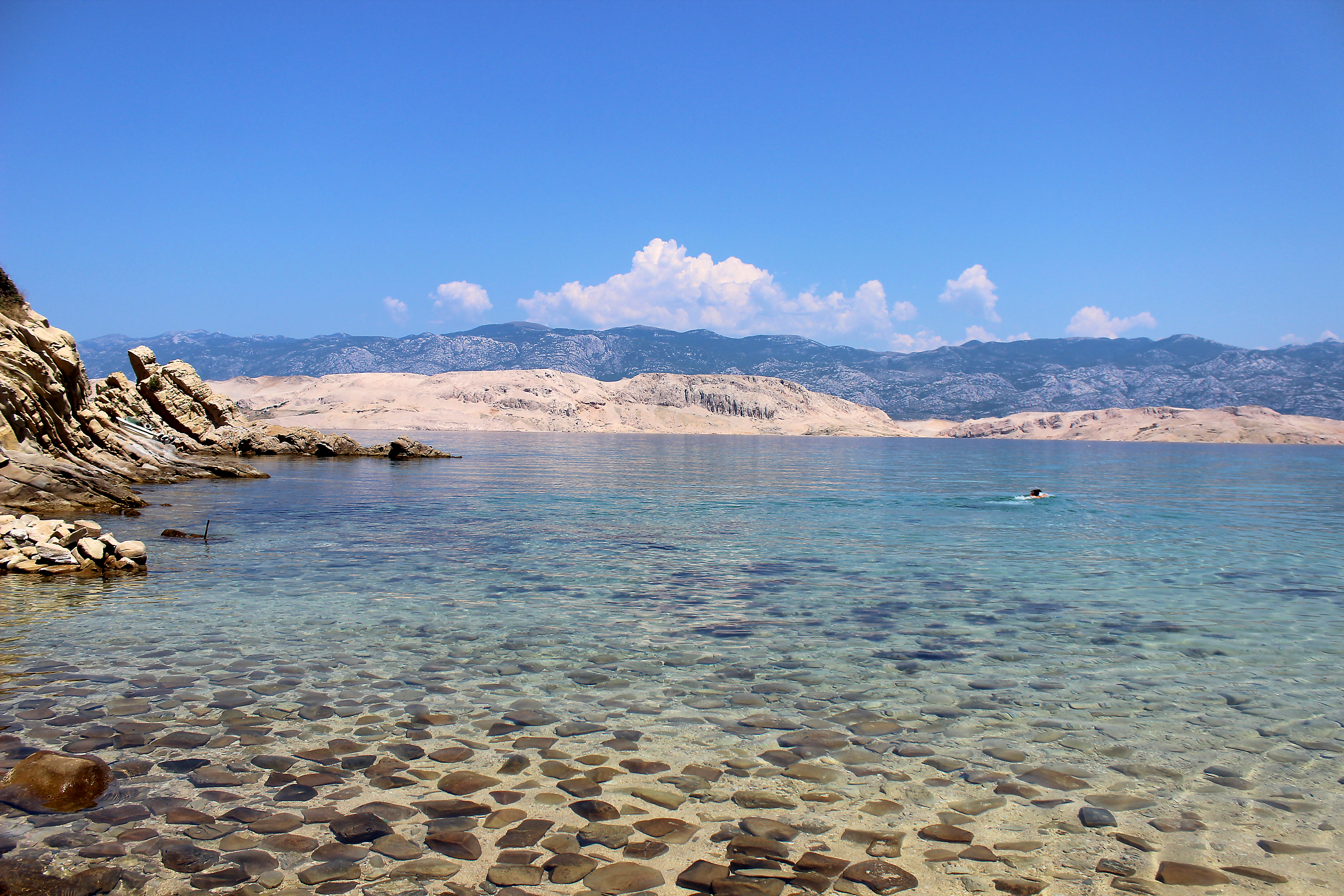 Croatia with ASOS #AAAinCroatia Day 3, Private Beach Croatia