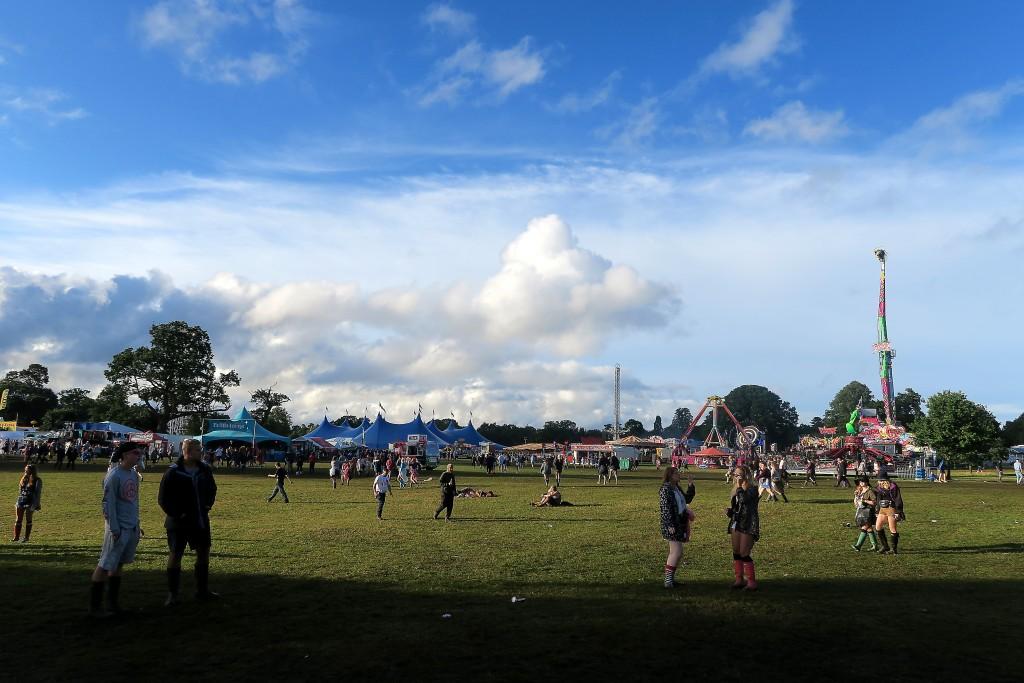 how to get to v festival weston park