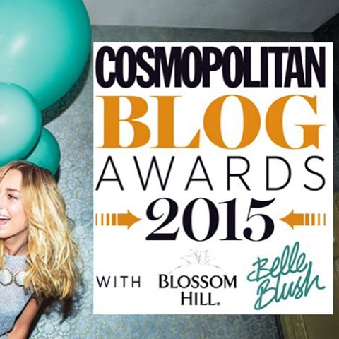 Ive been shortlisted in the Cosmo Blog Awards forhellip