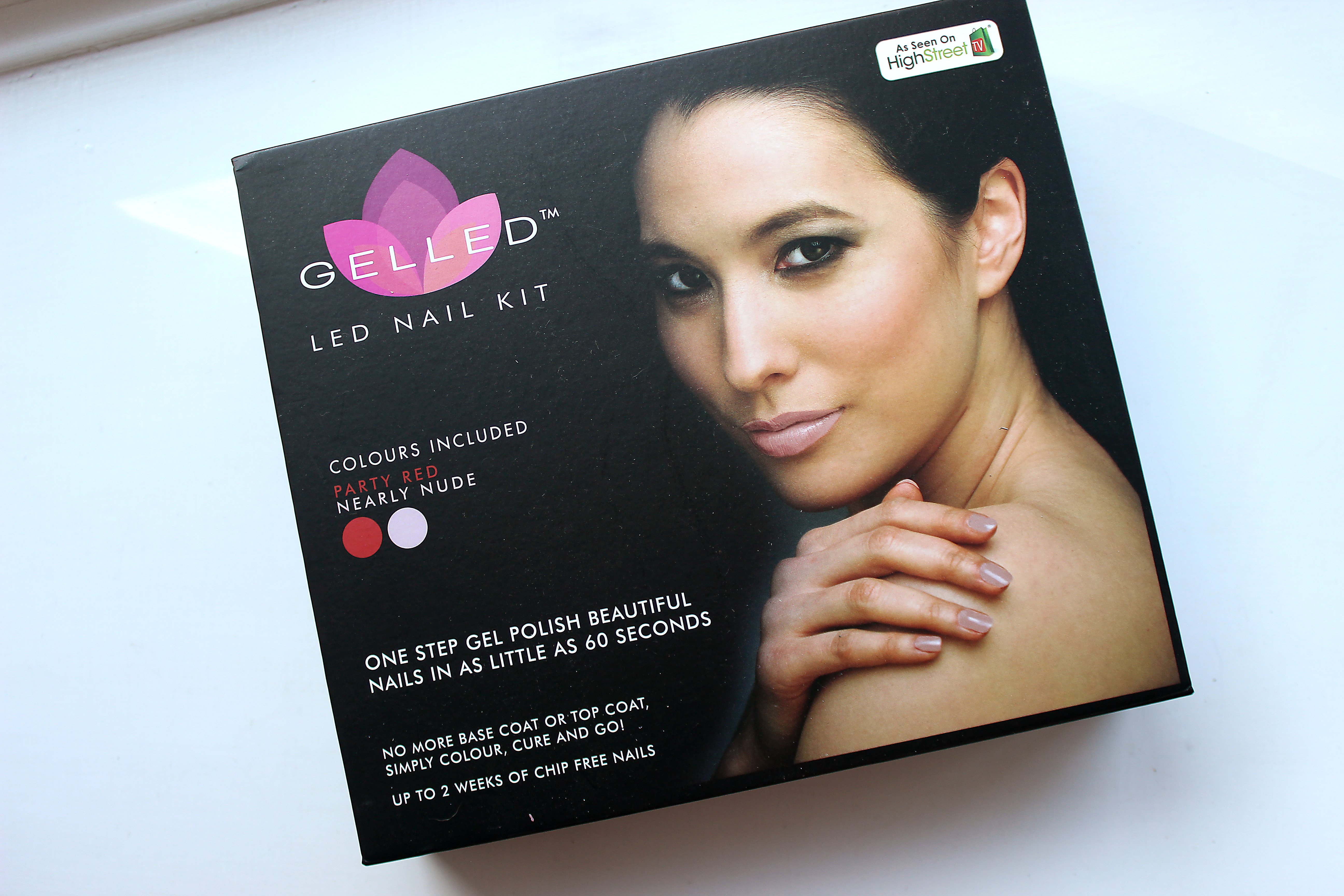Gel Nails at Home in Just 60 Seconds | Gelled LED Nail Kit
