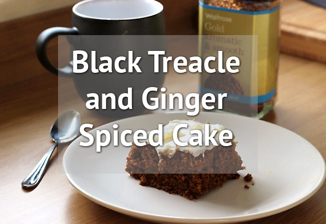 Black Treacle Cake