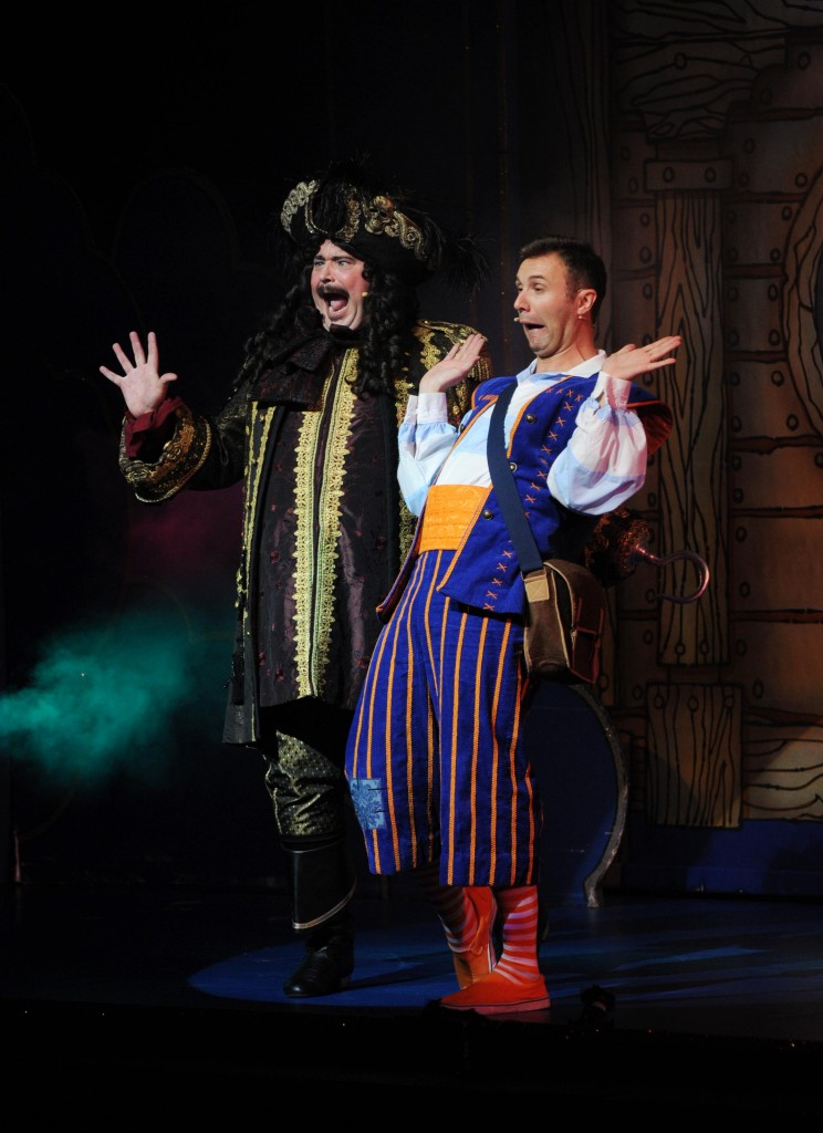 Is panto just for kids peter pan at the regent in stoke for Farcical pantomime
