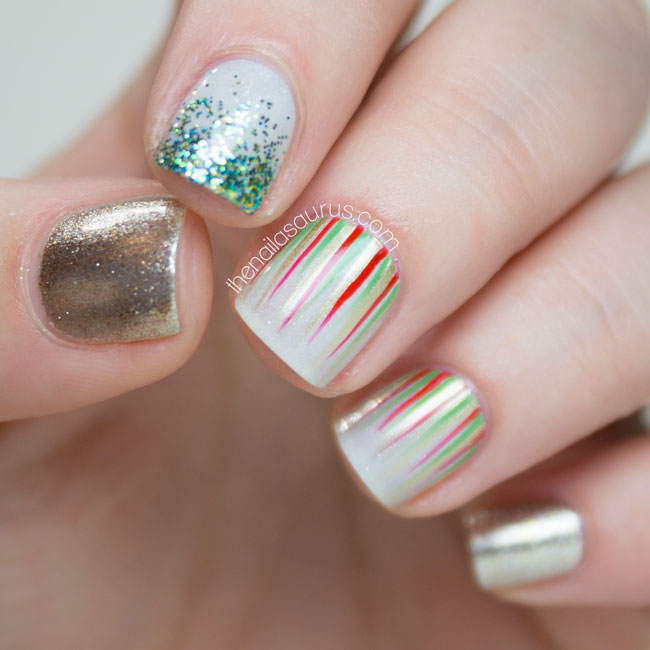 50 Christmas Nail Art Ideas | xameliax