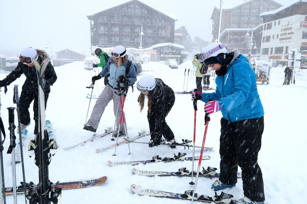 Skiing with Mark Warner (17)