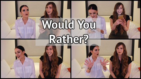Would You Rather rosiejaypierce, would you rather tag, would you rather questions