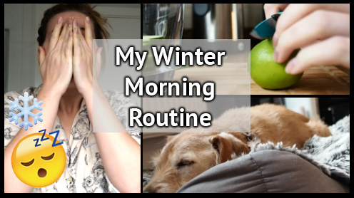 wnter morning routine still