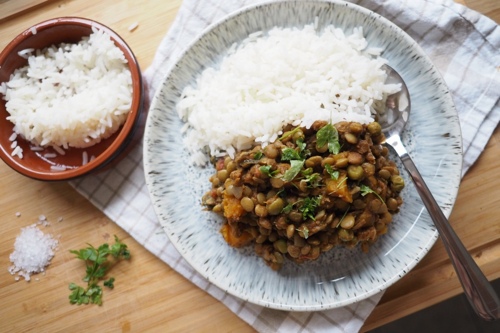 Healthy Dahl Curry Recipe, Slow Cooker Curry