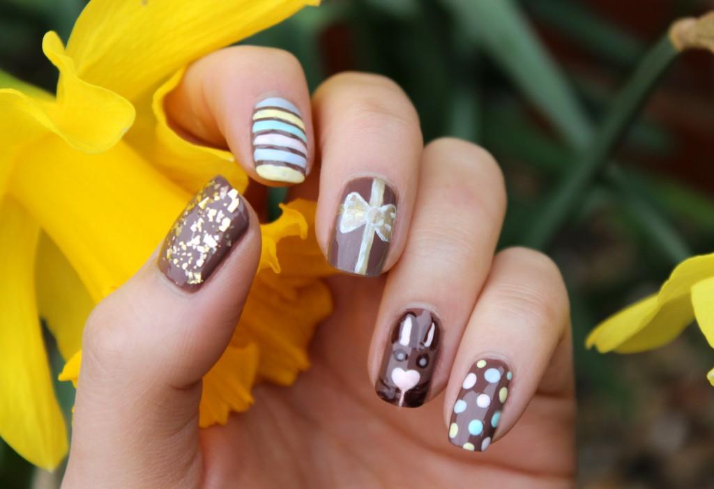 Easter Nails, Bunny Nails