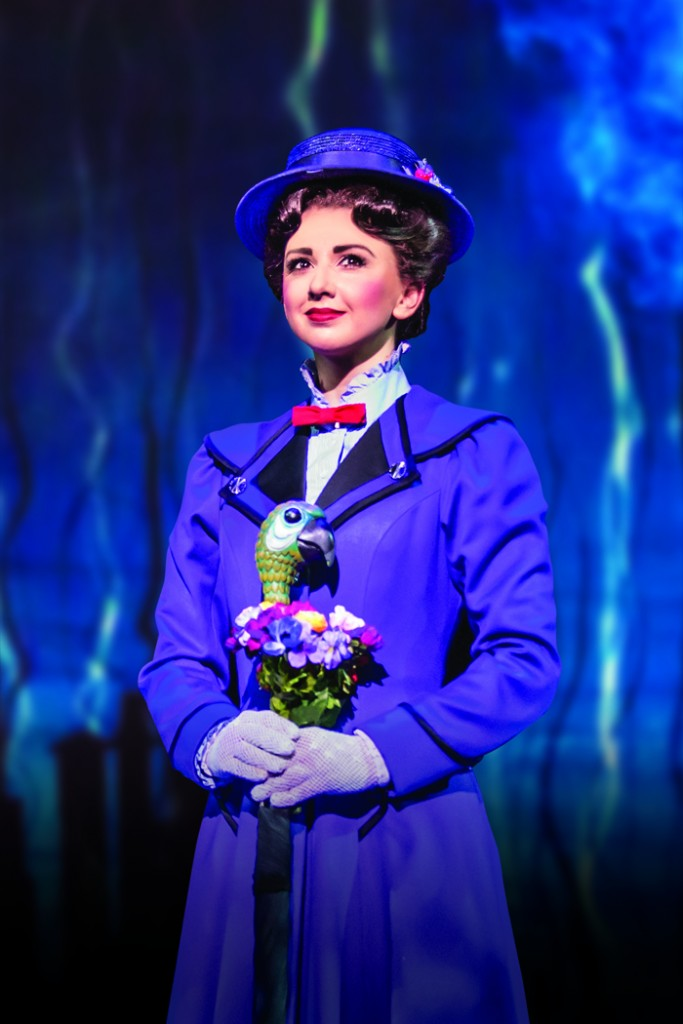 MARY POPPINS - Zizi Strallen as Mary Poppins - Photo credit Johan Persson (3)