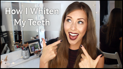 How I Whiten My Teeth, Crest Strips UK