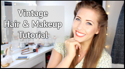 Vintage Makeup Tutorial