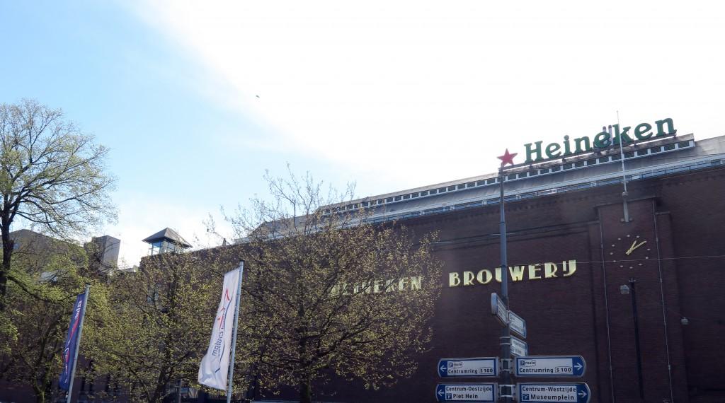 48 hours in Amsterdam - Heineken brewery