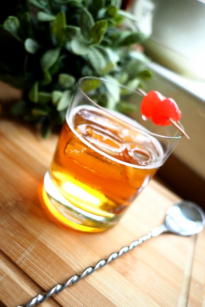 Bourbon Lady Cocktail, Manhatten Cocktail alternative