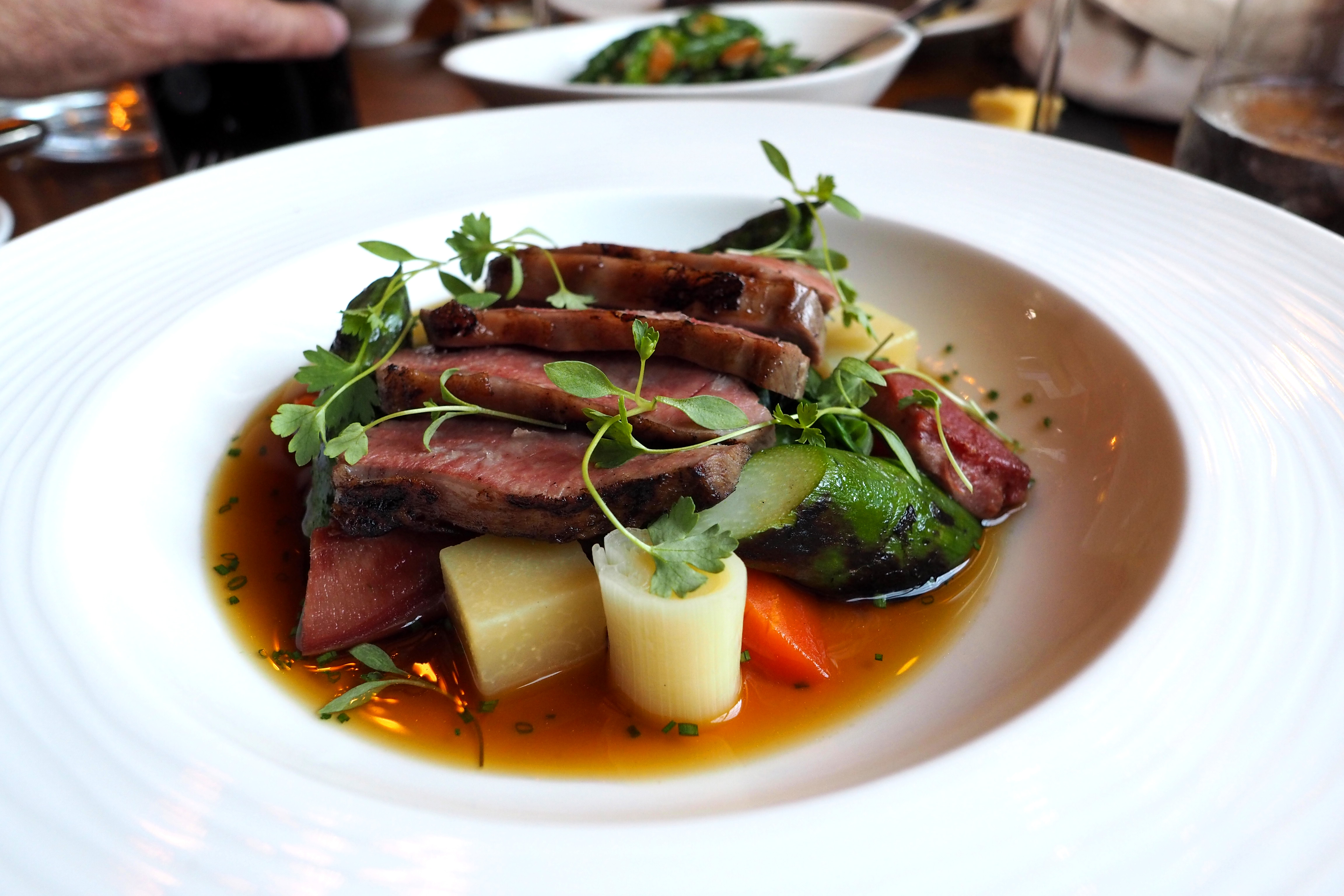 Hinds Head Bray Review, Heston Blumenthal pub
