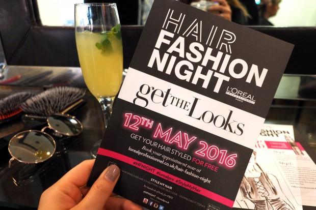 L'Oreal Hair Fashion Night #HFNight