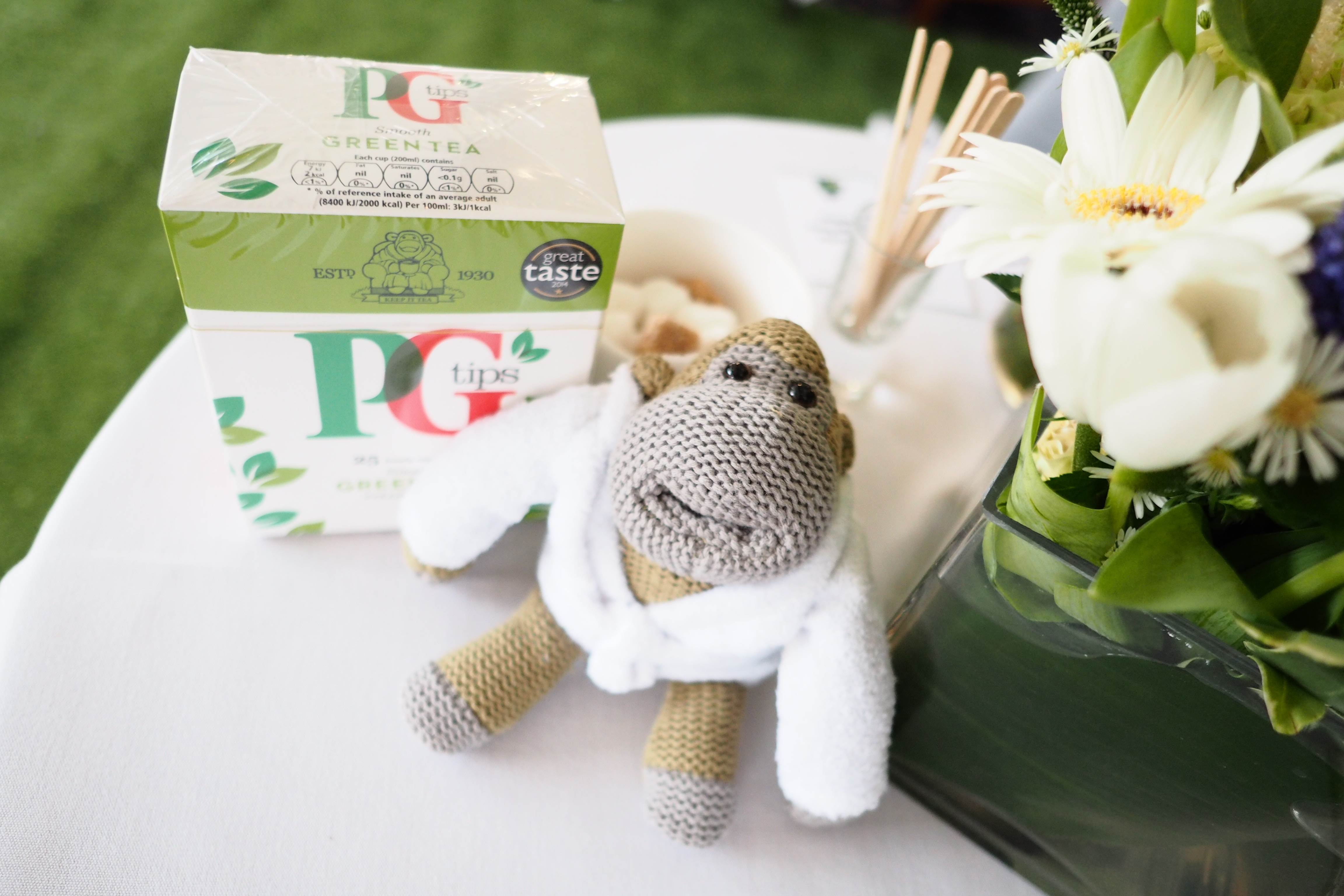 PG tips Green Tea Monkey