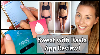 Sweat with kayla app review