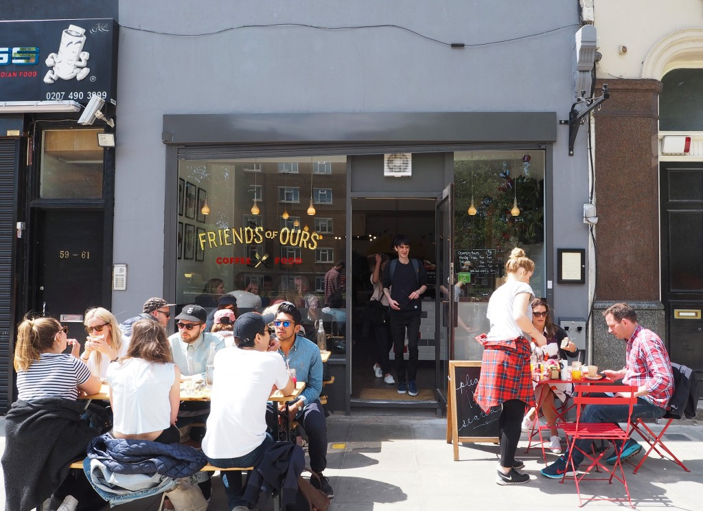 Friends of Ours Shoreditch review