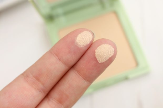 Pixi Beauty Colour Correction Powder Foundation Swatch